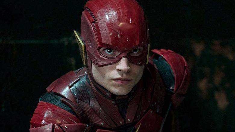 Ezra Miller as Barry Allen in Justice League