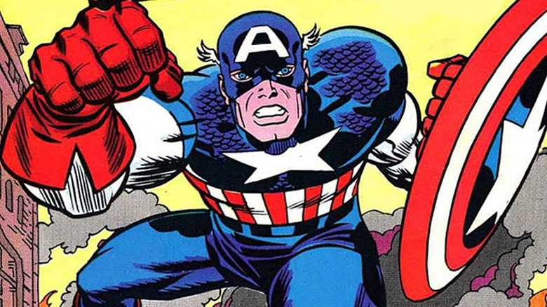 Captain America, As Drawn By Jack Kirby