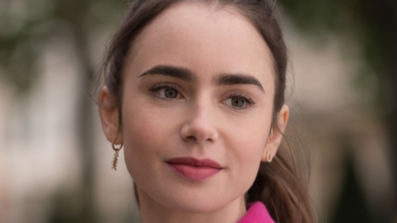 Lily Collins as Emily Cooper in Emily in Paris