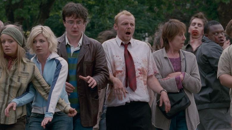 Simon Pegg as Shaun in Shaun of the Dead
