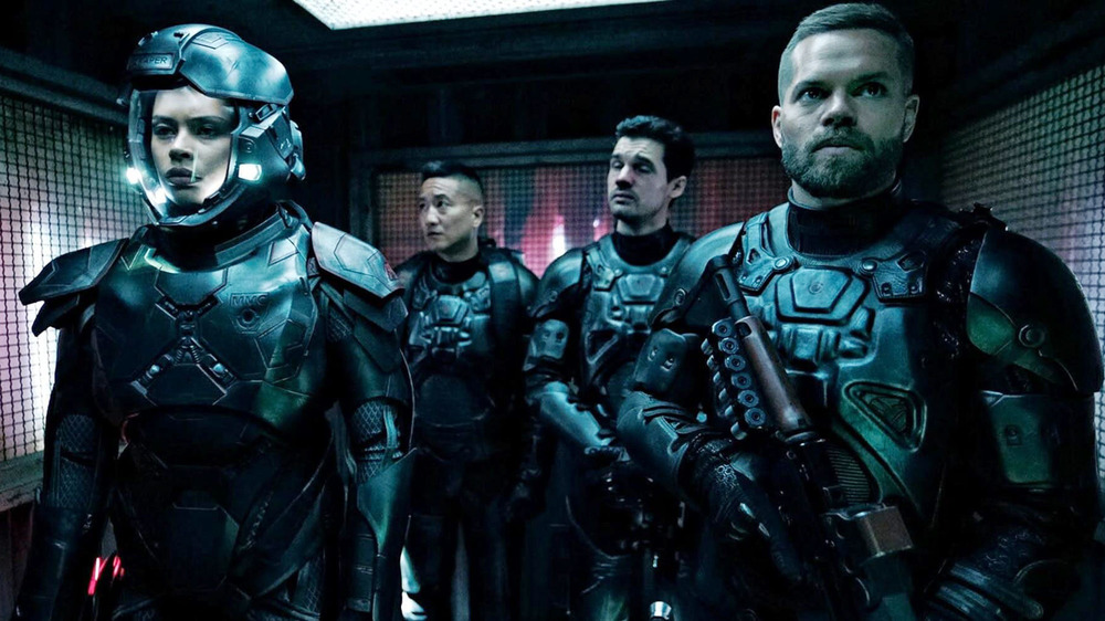 The Expanse characters space suit