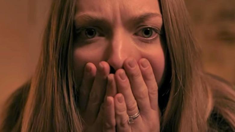 Amanda Seyfried gasping