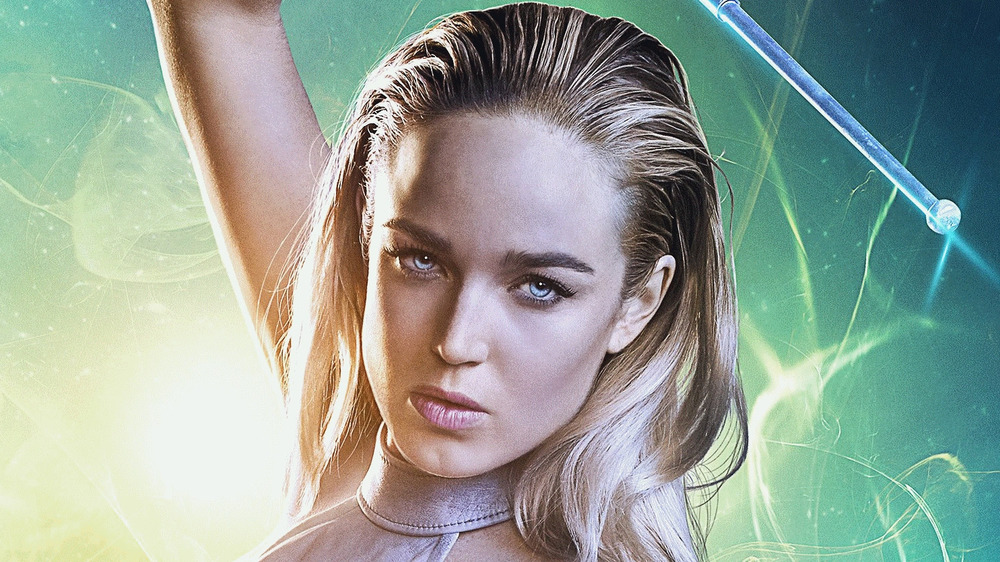 White Canary in battle