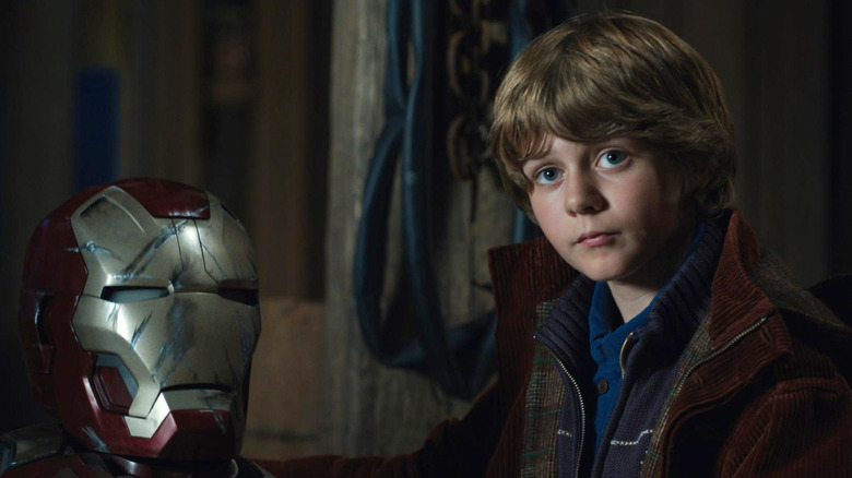 Kid in Iron Man 3