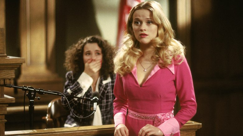 Scene from Legally Blonde