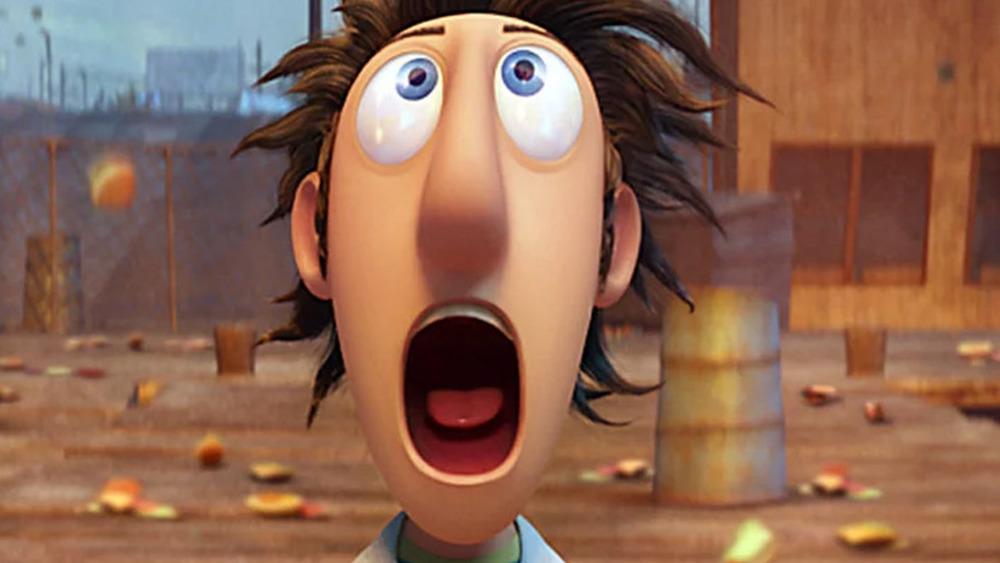 Flint Lockwood shocked face