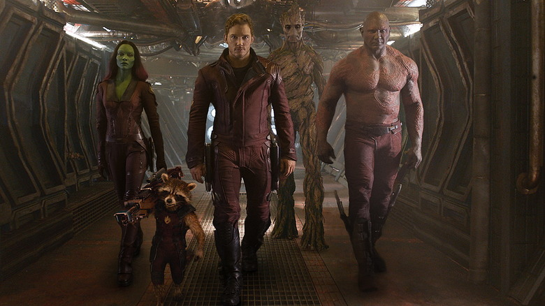 Guardians of the Galaxy team photo