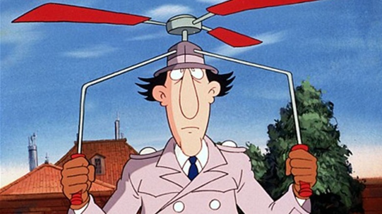 inspector gadget helicopter hat