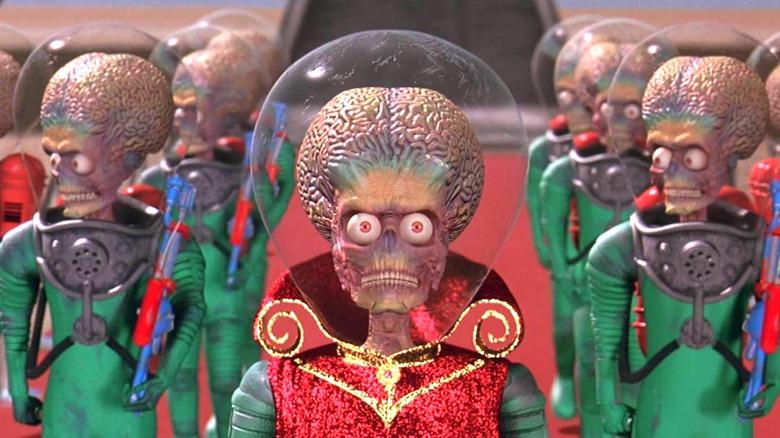 Martians in Mars Attacks!