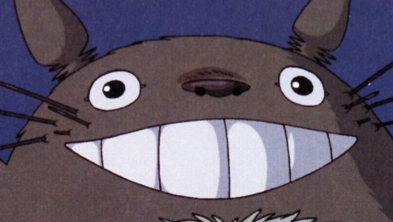 Totoro smiling