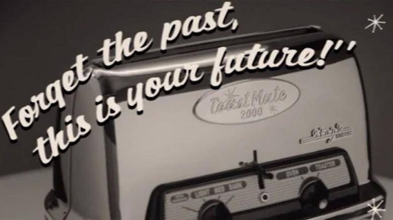 WandaVision toaster ad Stark Industries