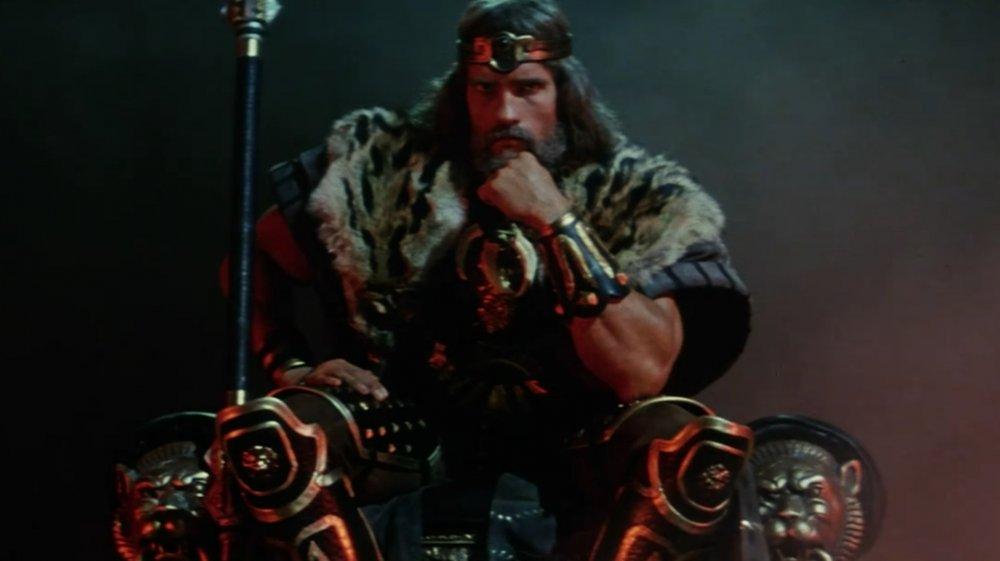 Arnold Schwarzenegger in Conan The Barbarian