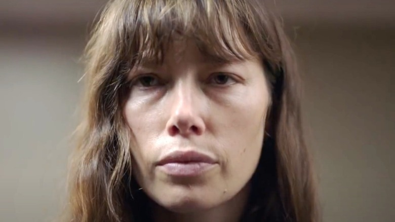 Jessica Biel bangs