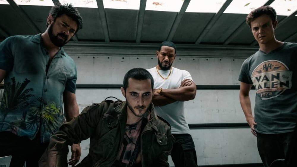 Karl Urban, Tomer Capon, Laz Alonso, and Jack Quaid on Amazon Prime's The Boys