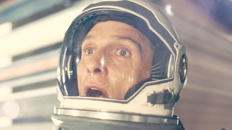 Matthew McConaughey stunned in Interstellar