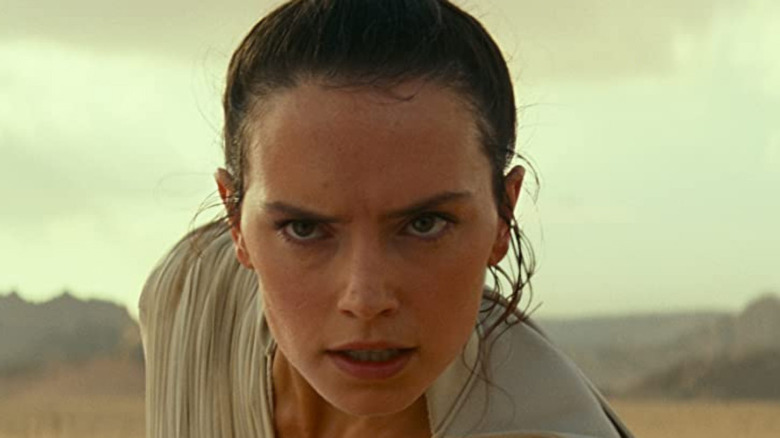 Rey in midst of battle