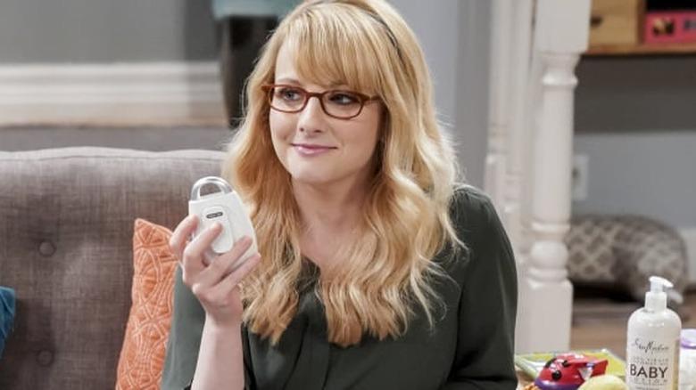 Melissa Rauch as Bernadette on The Big Bang Theory