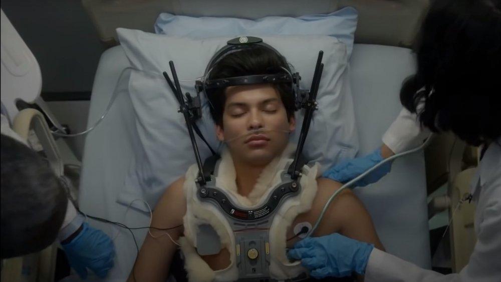 Xolo Maridueña as Miguel in Cobra Kai