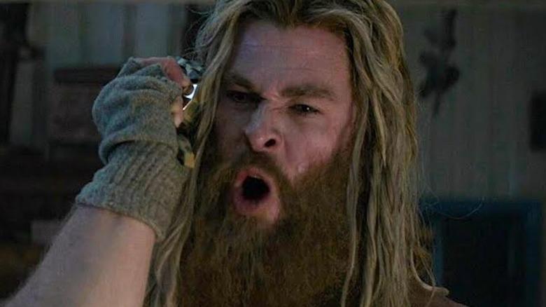 Thor screaming at Noobmaster