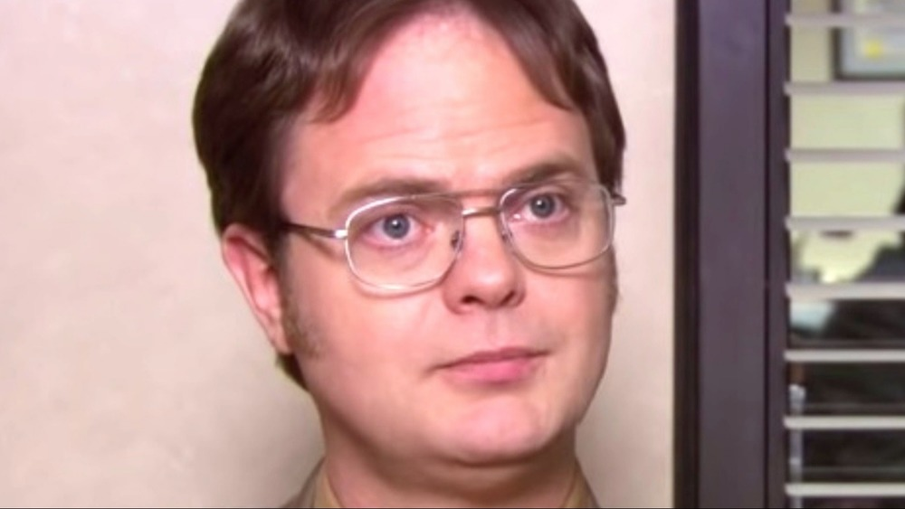 Rainn Wilson as Dwight Schrute