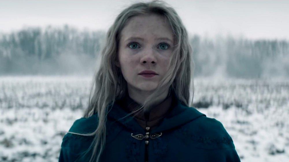 Freya Allan as Princess Ciri on Netflix's The Witcher