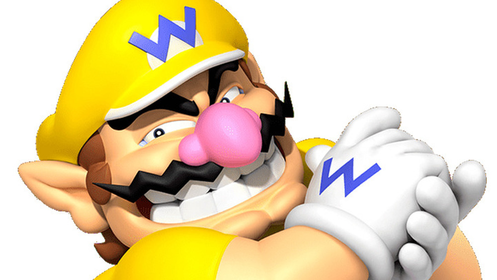 Wario Rubbing Hands Together