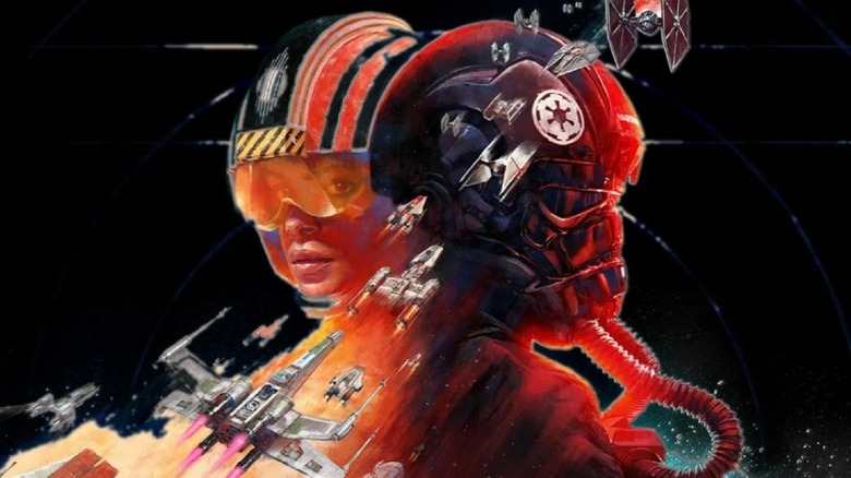 star wars squadrons, electronic arts, ea, star wars, tie interceptor, a-wing, a wing, interceptor, best, overpowered, op, build, loadout, customization