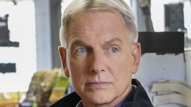Leroy Jethro Gibbs looking serious