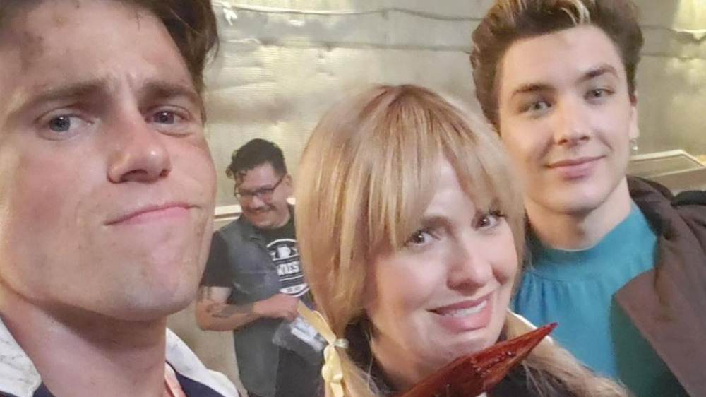 AHS: 1984 cast behind the scenes