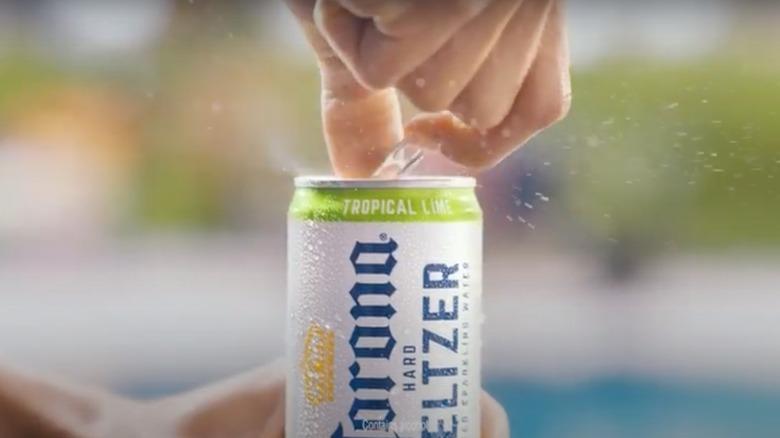 Corona hard seltzer opening