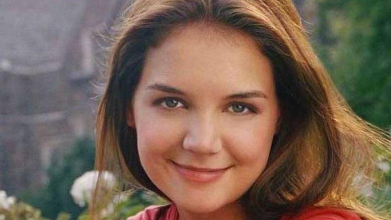 Katie Holmes smiling