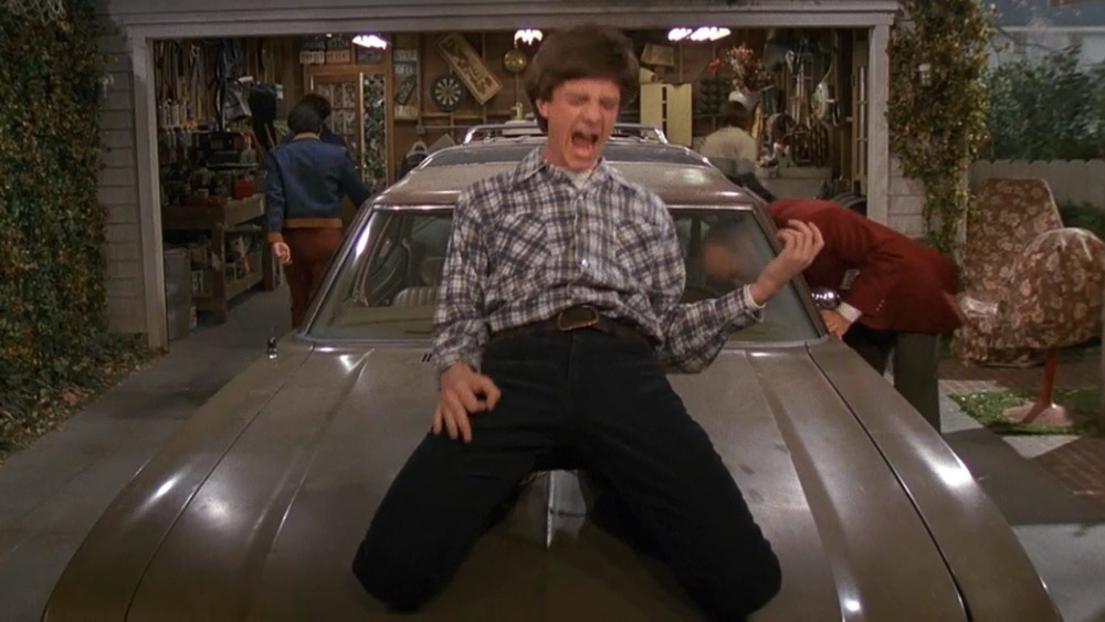 Eric Forman rocking out on the Vista Cruiser