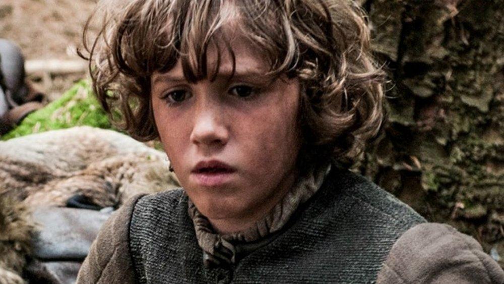 Art Parkinson as Rickon Stark in Game of Thrones