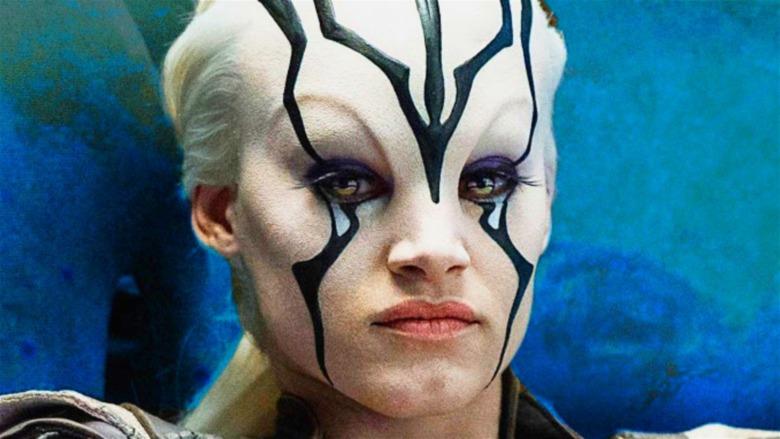 Jaylah Star Trek white hair