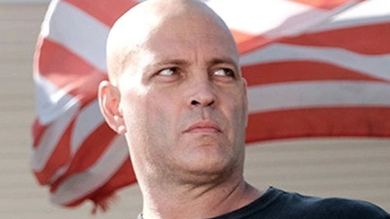 Vince Vaughn looking grim