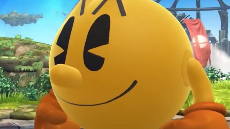 Smiling Pac-Man