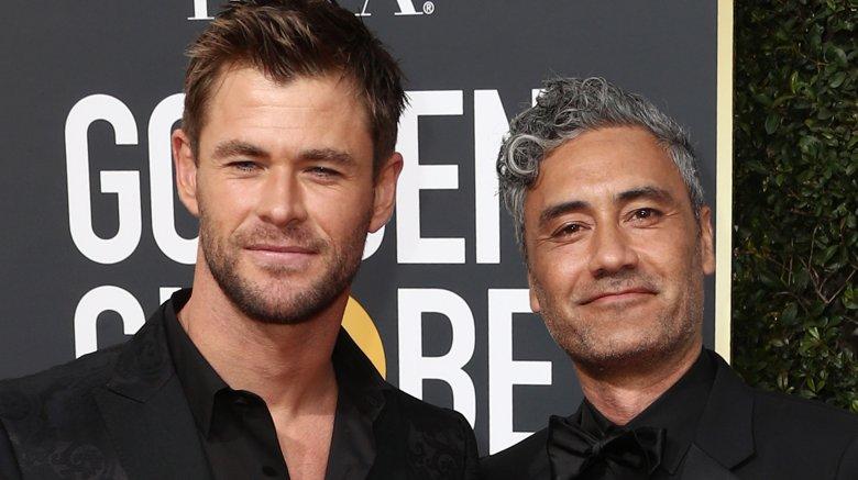 Chris Hemsworth and Taikaa Waititi
