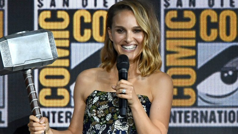 Natalie Portman Is Female Thor In Love And Thunder