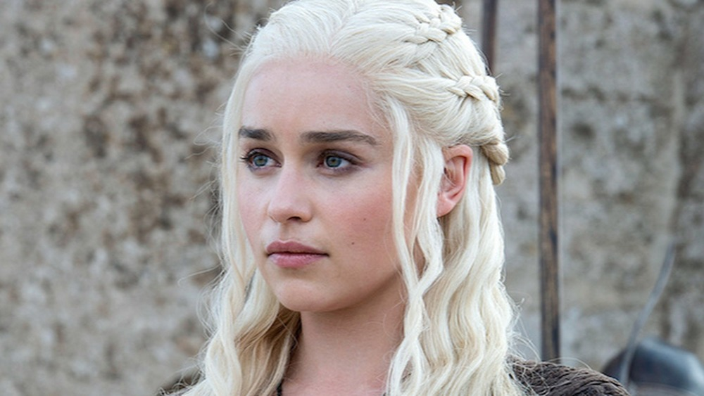 Daenerys Targaryen outside