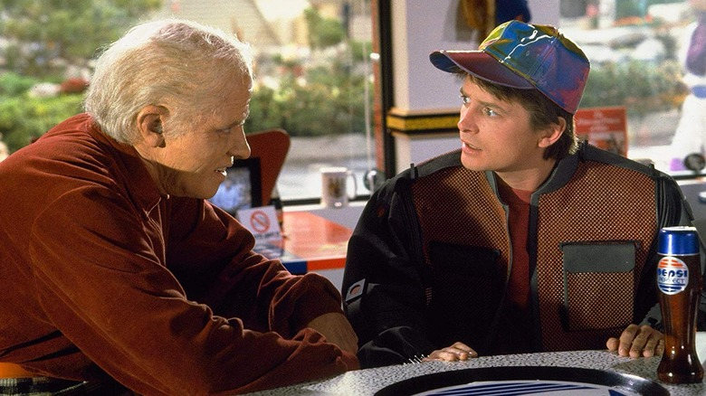 Scene from Back to the Future Part II