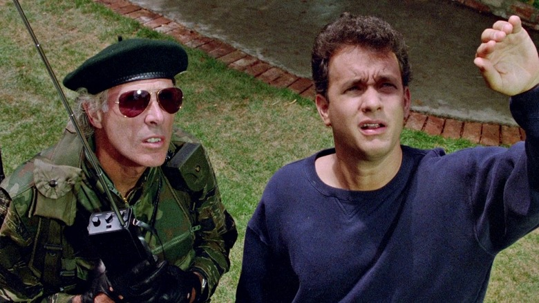 Tom Hanks and Bruce Dern in The Burbs