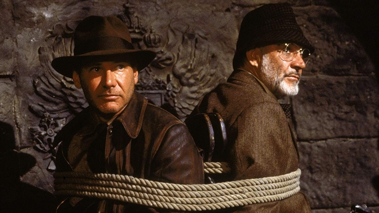Scene from Indiana Jones and the Last Crusade