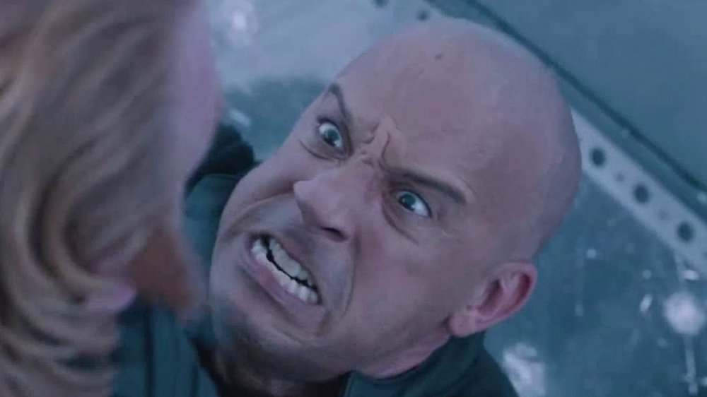 Dominic Toretto angry