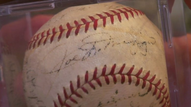 Baseball signed by the 1951 New York Yankees