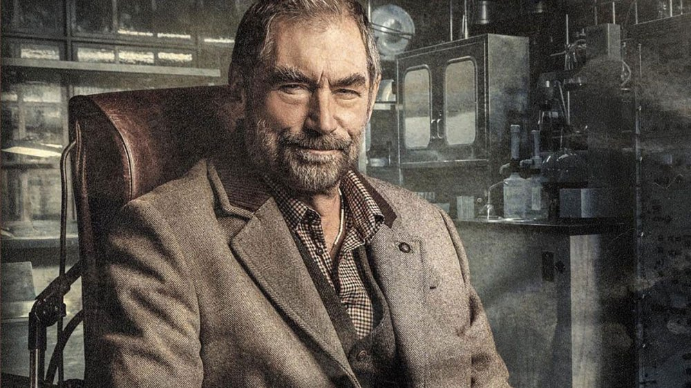 Timothy Dalton as Chief Niels Caulder on Doom Patrol