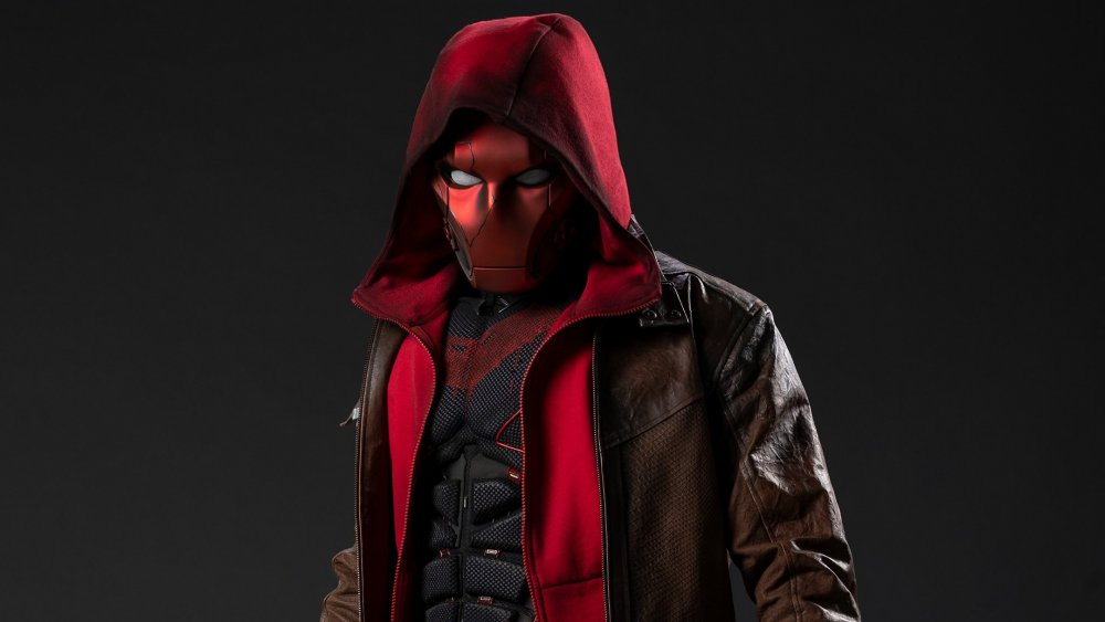 Curran Walters as Jason Todd, a.k.a. the Red Hood, on Titans