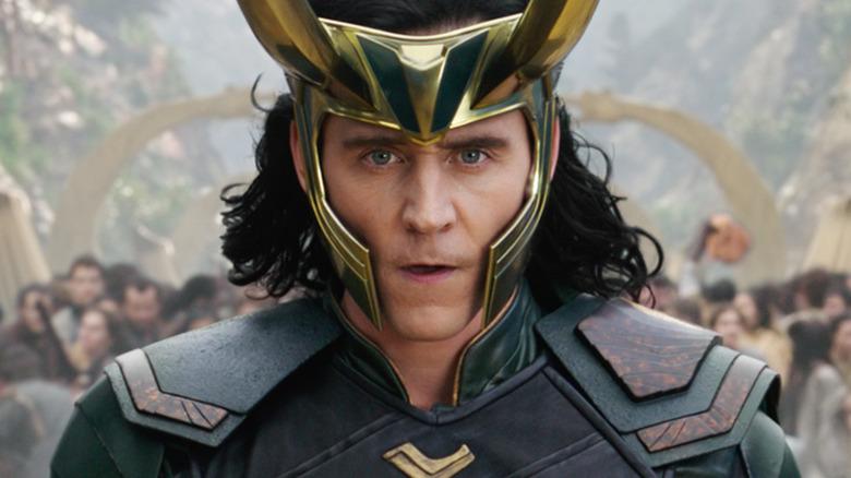 Tom Hiddleston as Loki in Thor: Ragnarok