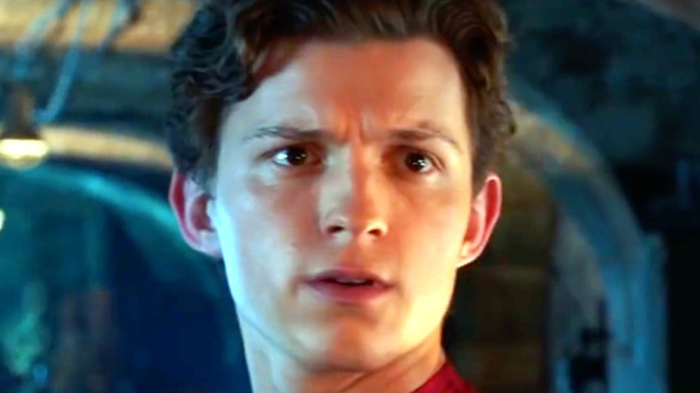 Tom Holland as Spider Man