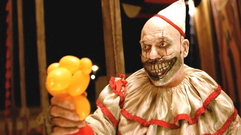Twisty The Clown From Ahs Is Unrecognizable Well i think its fake but im not sure you see,the reason i think its fake is because mr tipton is played by someone and he owns the hotel in suite life of zack and cody. twisty the clown from ahs is unrecognizable