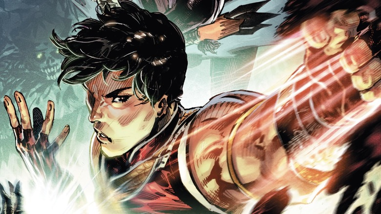 Shang-Chi 2020 comic cover design